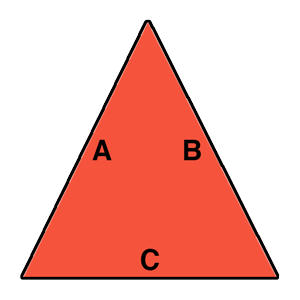 Find the area of a triangle