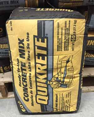 Quikrete 90 lb. Concrete mix-110190 the home depot.
