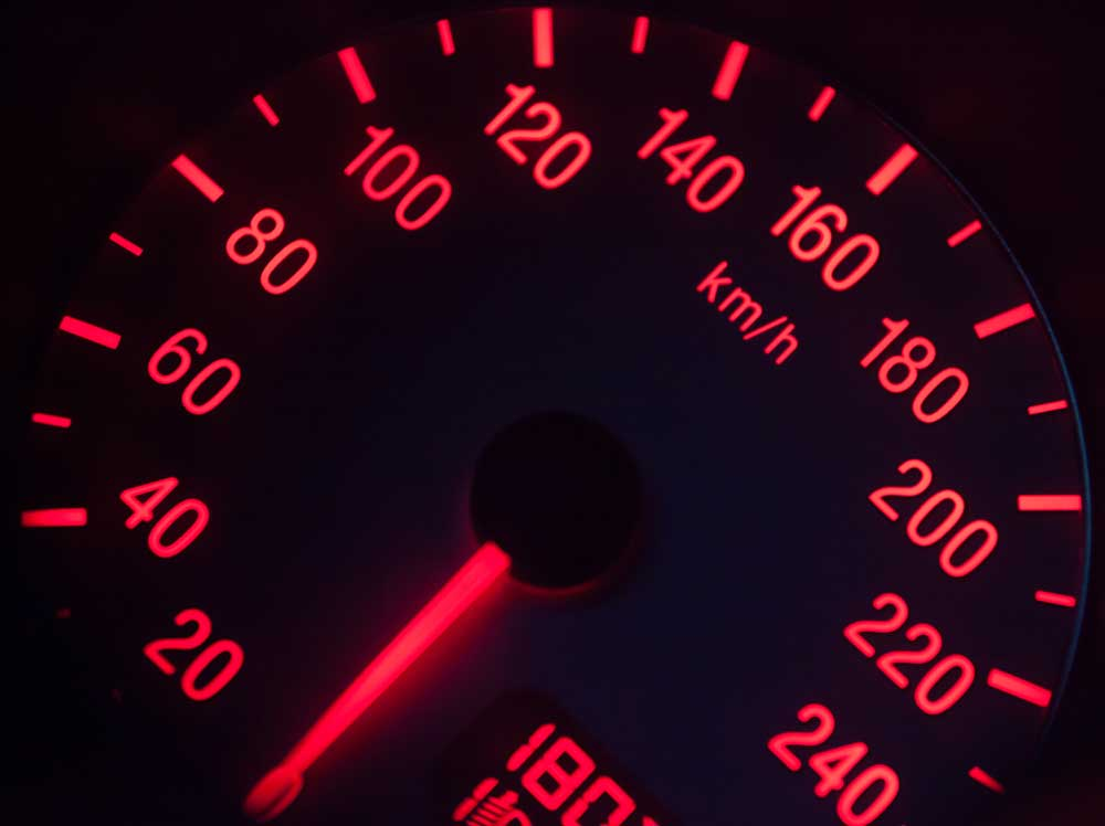 kilometers per second and feet per second are units used to measure speed