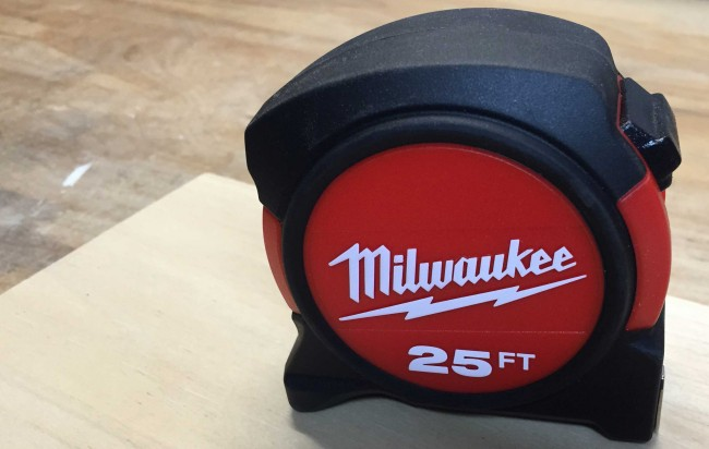 Milwaukee General Contactor tape measure
