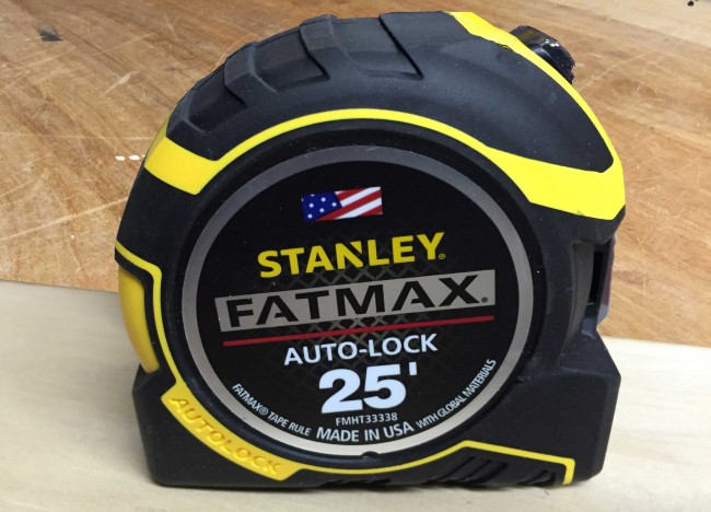 Stanley FatMax Auto-Lock tape measure
