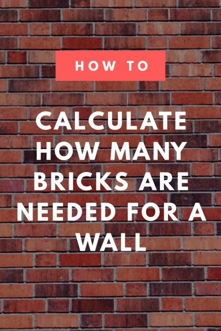 Brick Calculator Estimate The Brickortar Needed For