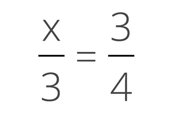 Solve For Unknown Fraction Calculator - Inch Calculator