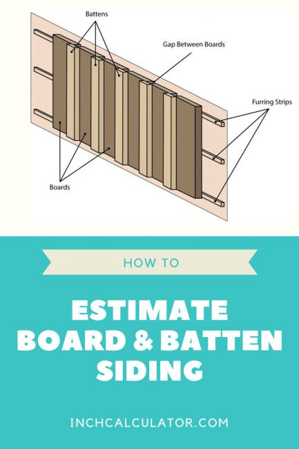 Board And Batten Siding Calculator Inch Calculator