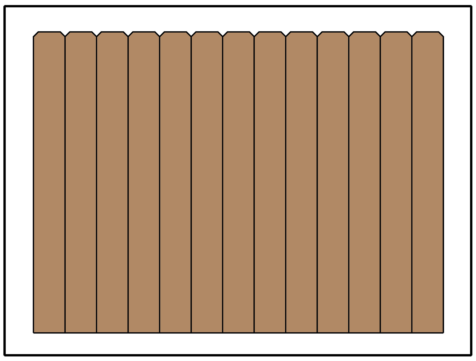 15 Popular Fence Styles for Privacy and Picket Fences Inch