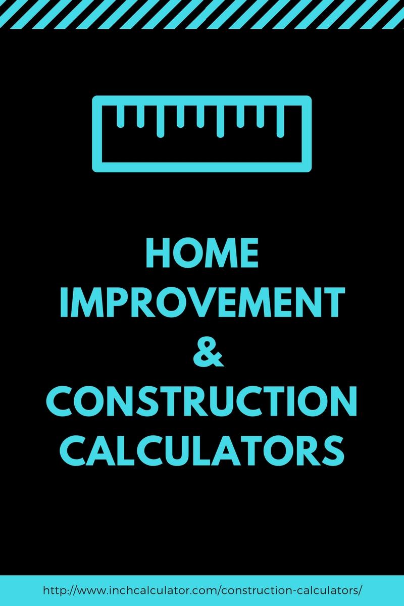 construction calculators and estimation tools