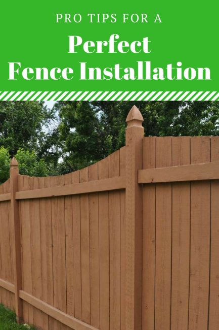 Get pro tips for a perfect privacy fence installation