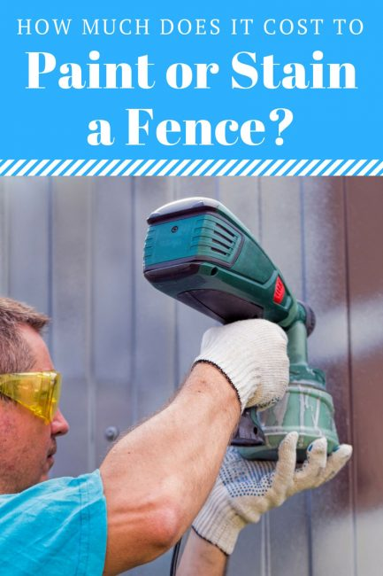 How Much Does it Cost to Paint or Stain a Fence? - Inch Calculator