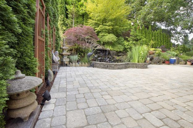 Tips on how to measure and lay out a patio for a perfect design.