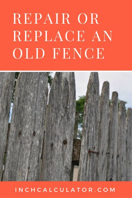 Learn how can you tell when a fence can be repaired and when it should be replaced.