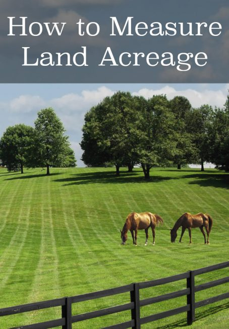 Acreage Calculator Find The Size And Area Of Your Land