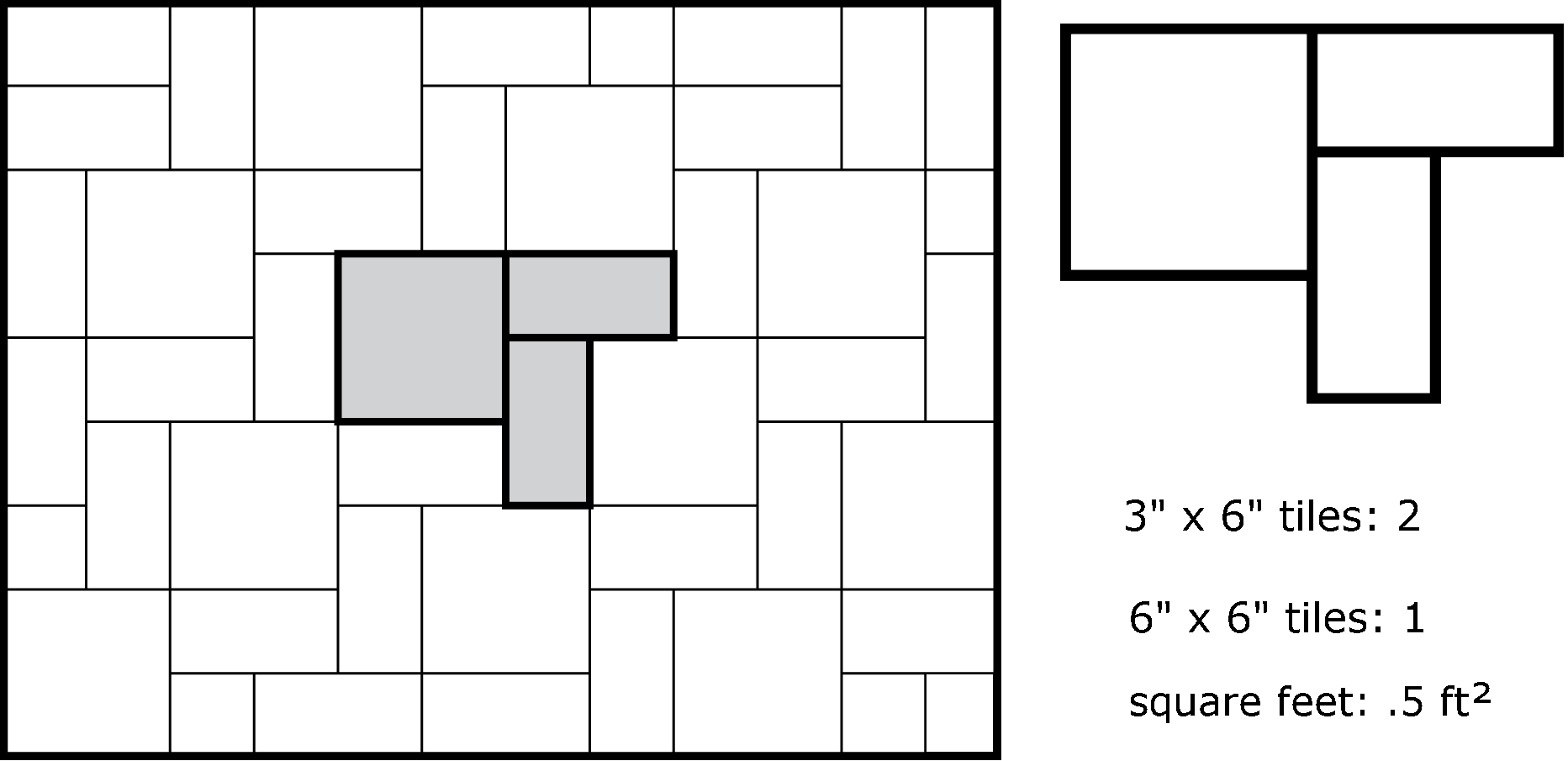 Calculating How Many Tiles Are Needed To Complete A Pattern