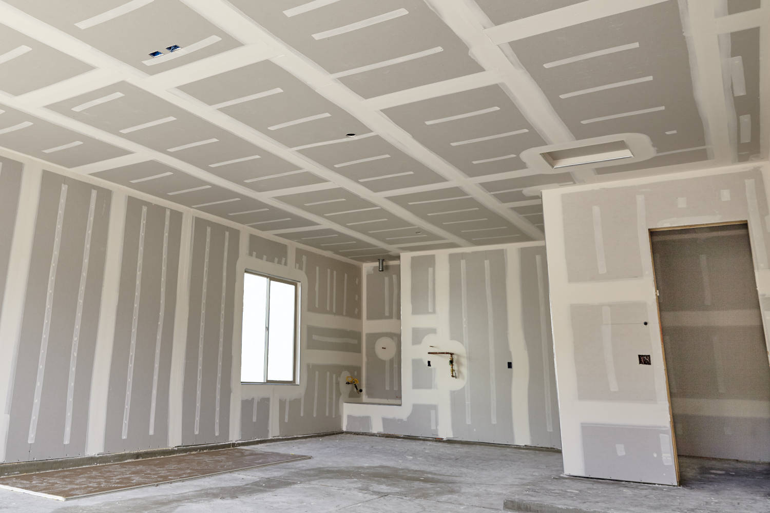 Estimating how much drywall is needed
