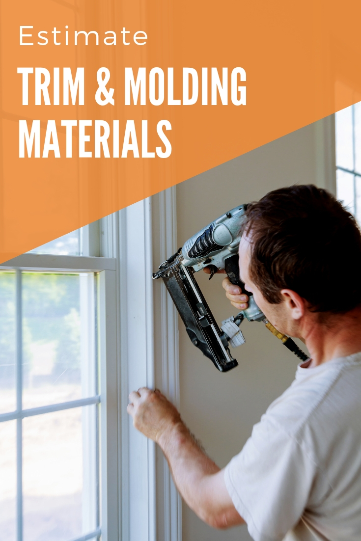 Estimate how many moldings you need to trim a room using the trim and moulding calculator.