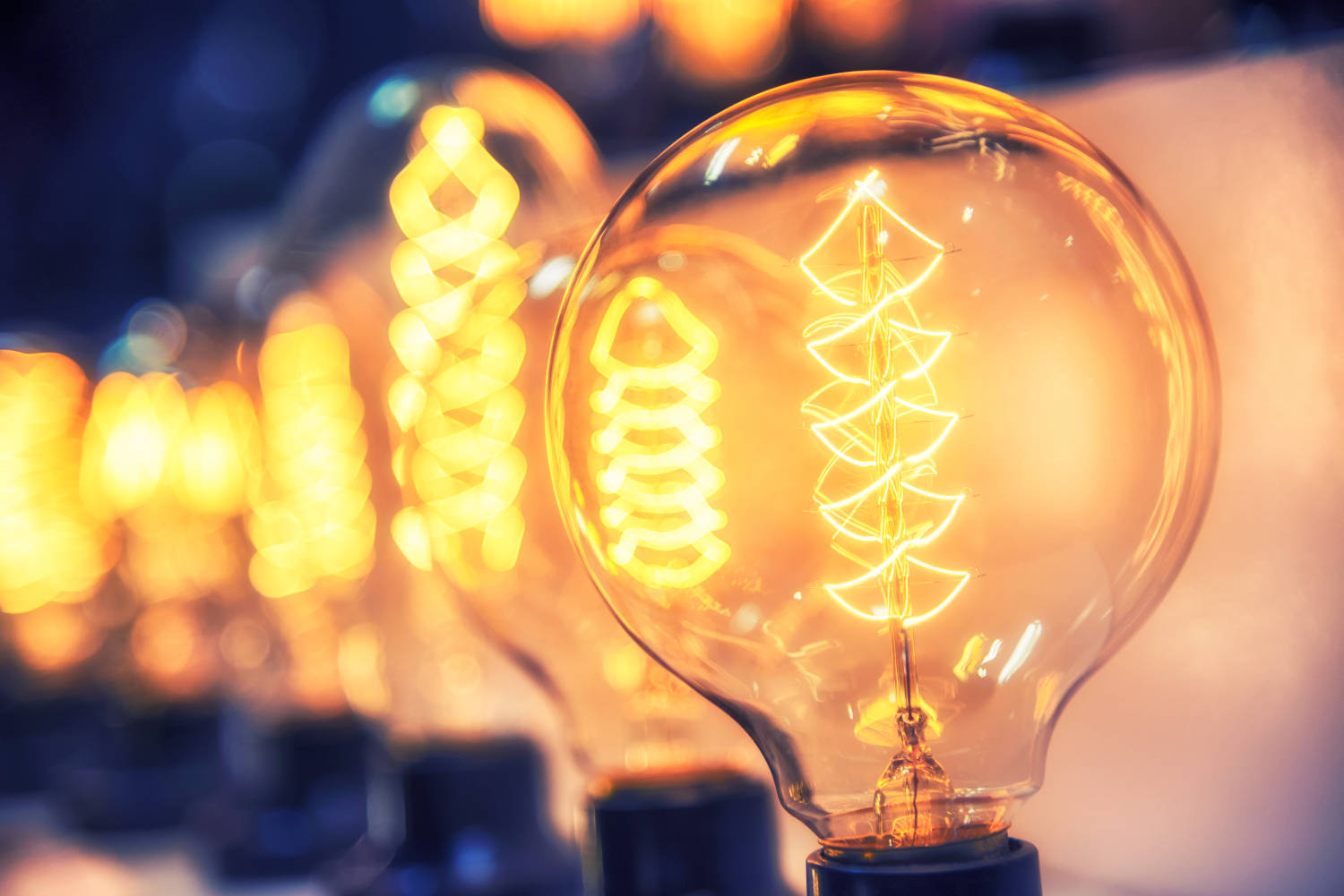 Light bulb electricity costs can be calculated by finding the kilowatt-hours a light bulb uses and multiplying by the cost per kilowatt-hour