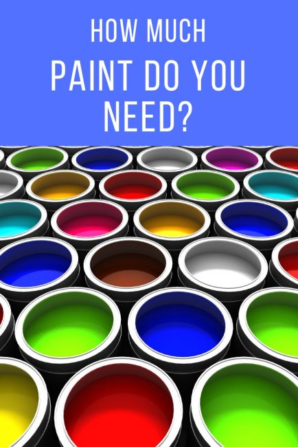 How Much Is A Paint Job >> Paint Calculator and Coverage Estimator - Inch Calculator