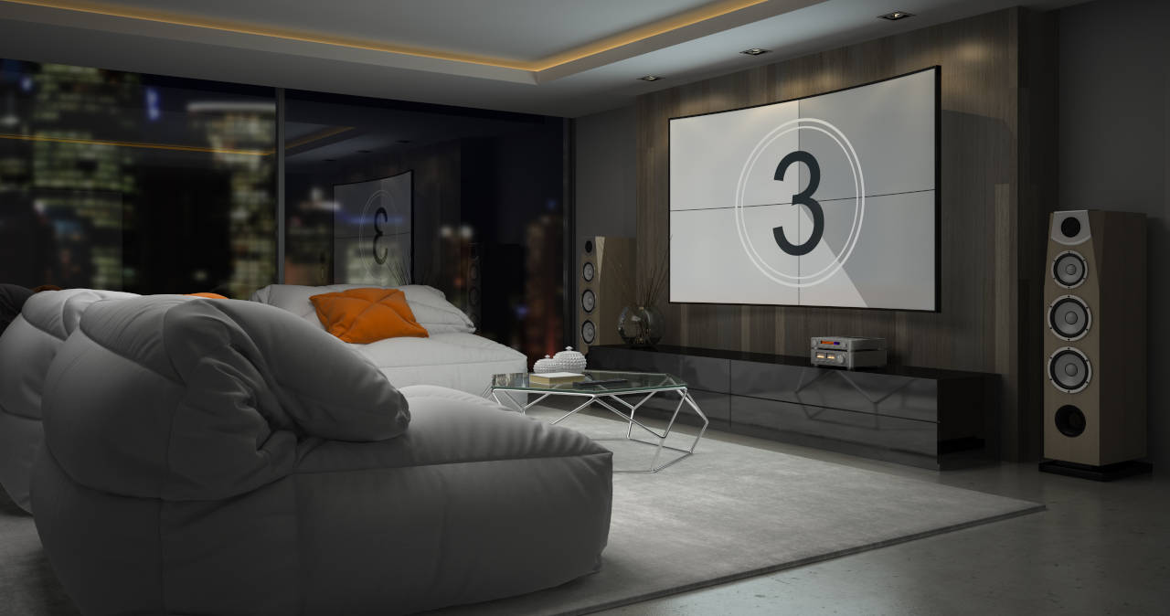 Find the right TV mounting height for your room