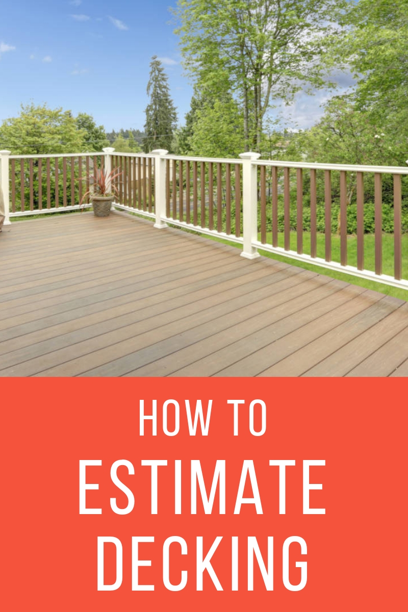 deck flooring calculator and price estimator