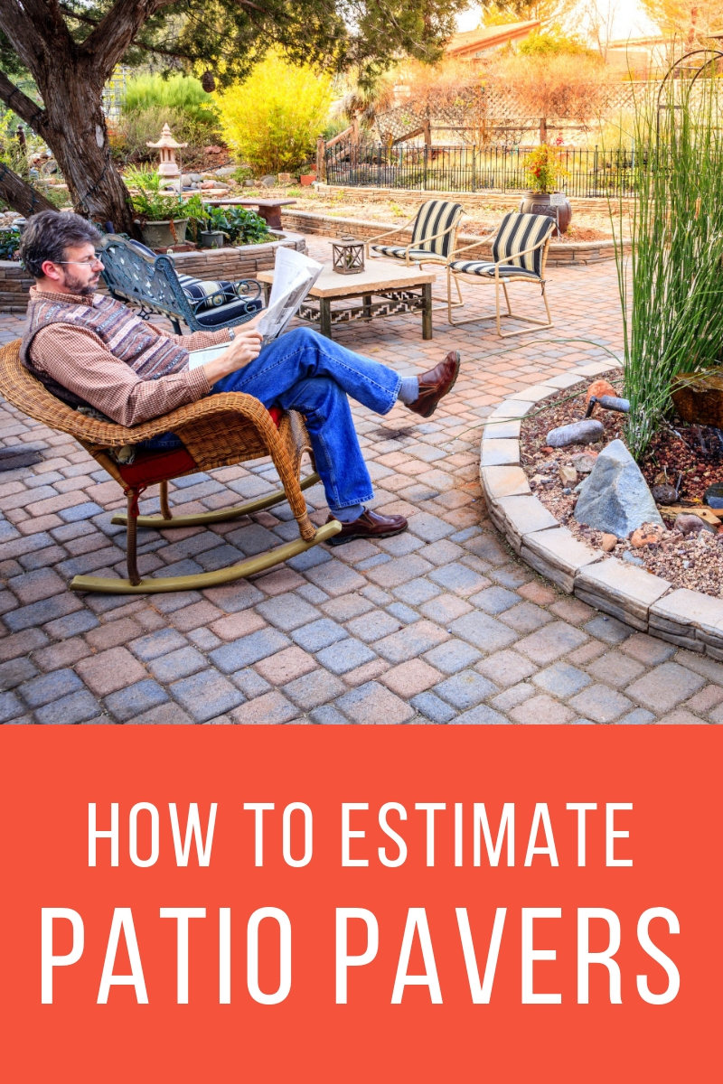 Calculate the number of pavers needed for a patio project and estimate the price for project materials.