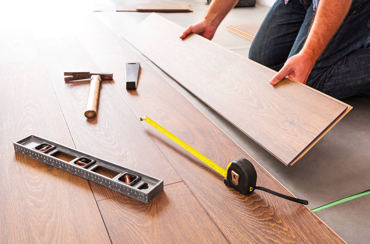 Laminate Flooring Can Often Be Installed By The Typical Homeowner But Installation Labor Ranges From