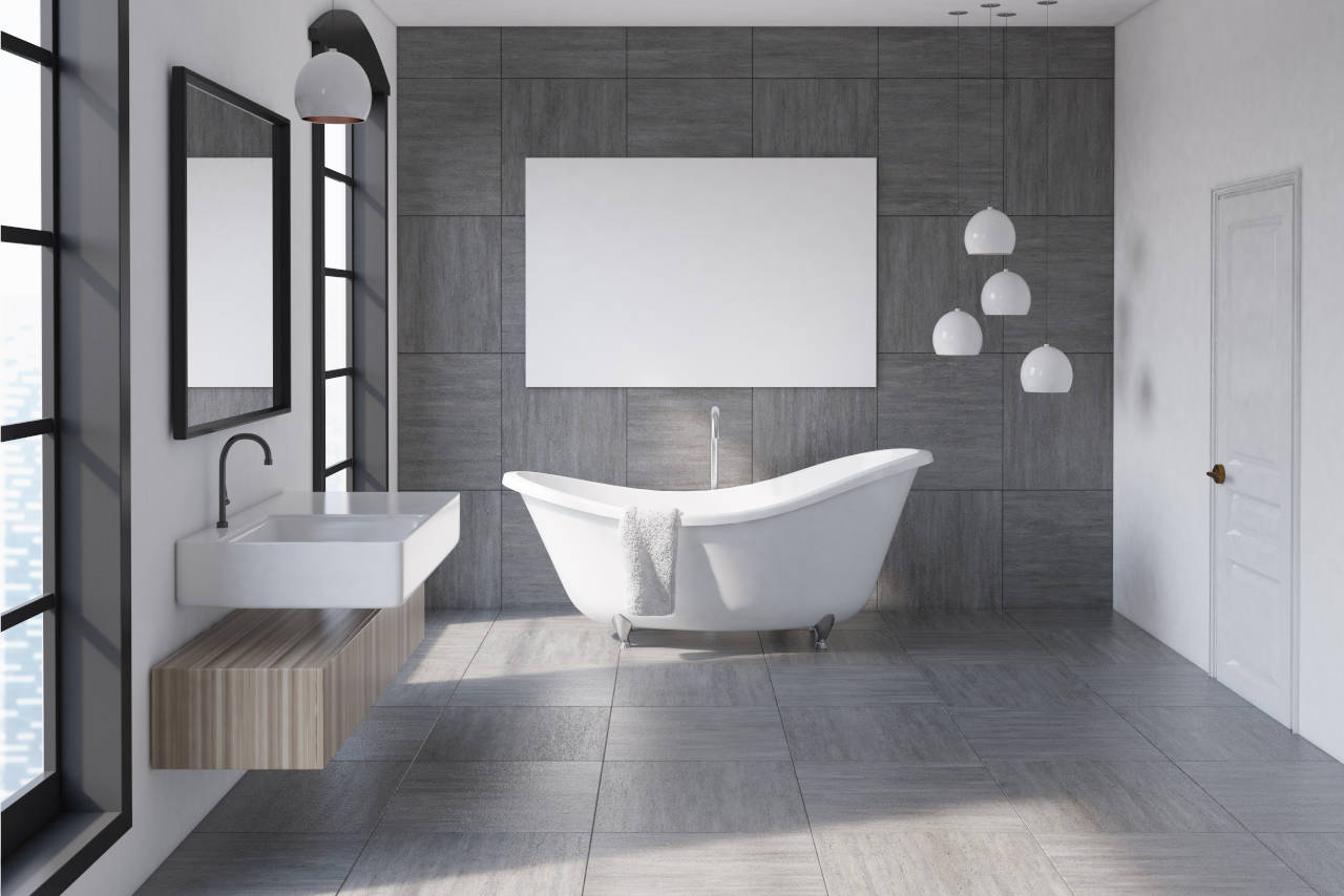 Cost to Install Bathroom Tile Floor - 2019 Cost Estimator ...