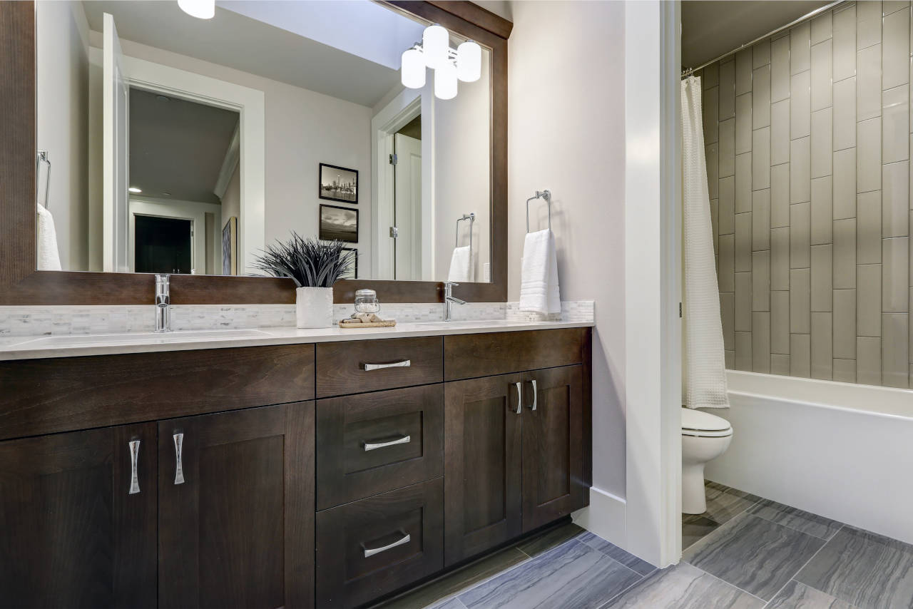 Cost To Install Bathroom Vanity 2019 Price Guide Inch
