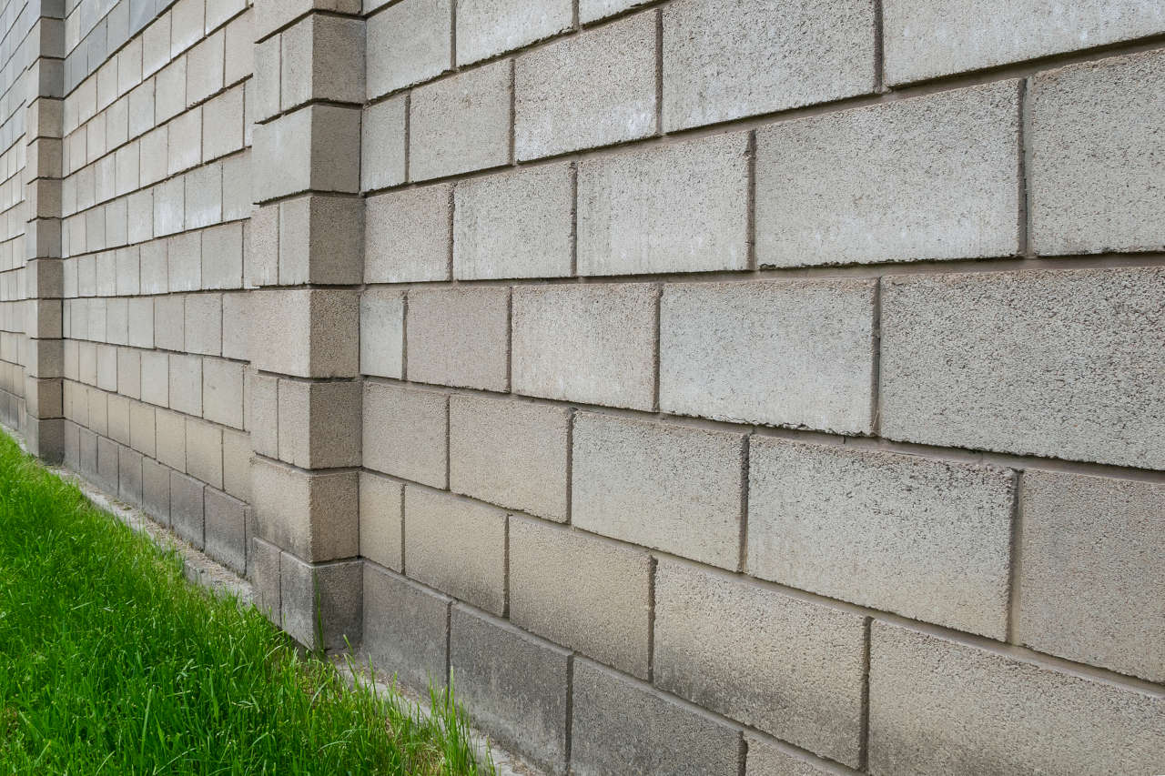 Learn more about installing a cinder block wall