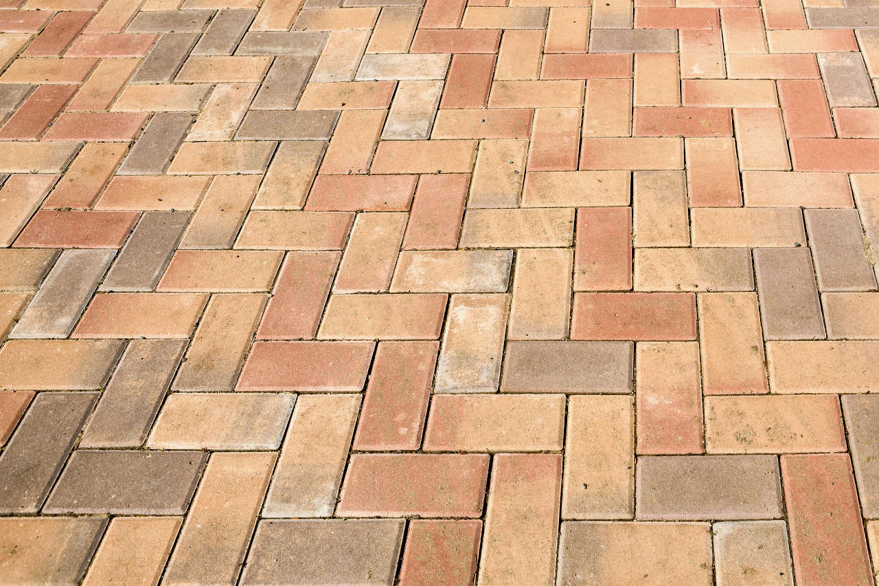 Beau Pavers Are A Beautiful Patio Material And Are About Mid Range In Cost  Compared To