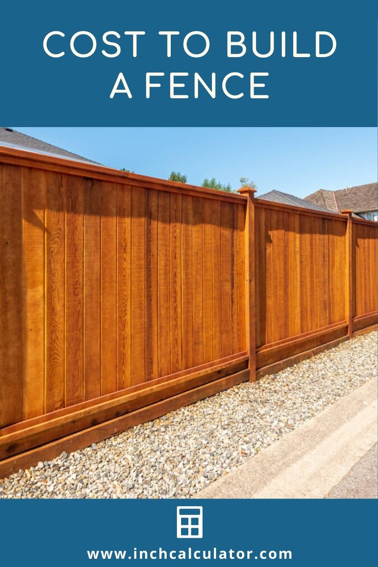 Share how much does a fence cost?