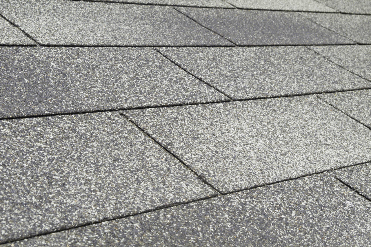 3-tab asphalt shingles are the most common roofing material
