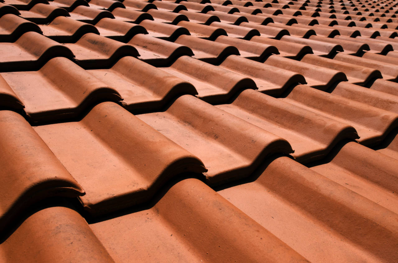 Roofing tiles come in many shapes and colors