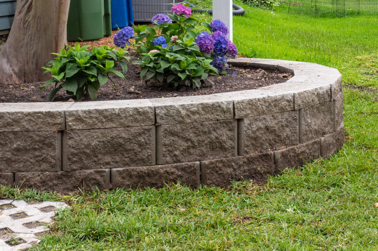 Find How Many Retaining Wall Blocks Are Needed To Build A Wall