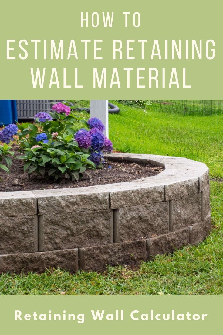 Retaining Wall Calculator and Price Estimator - Find How