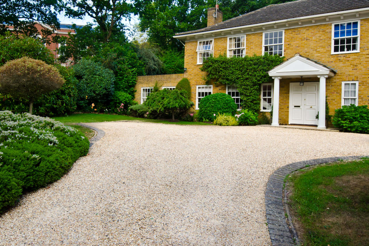 How Much Does A Yard Of Gravel Weigh >> Gravel Driveway Calculator Estimate Material For A Gravel Driveway